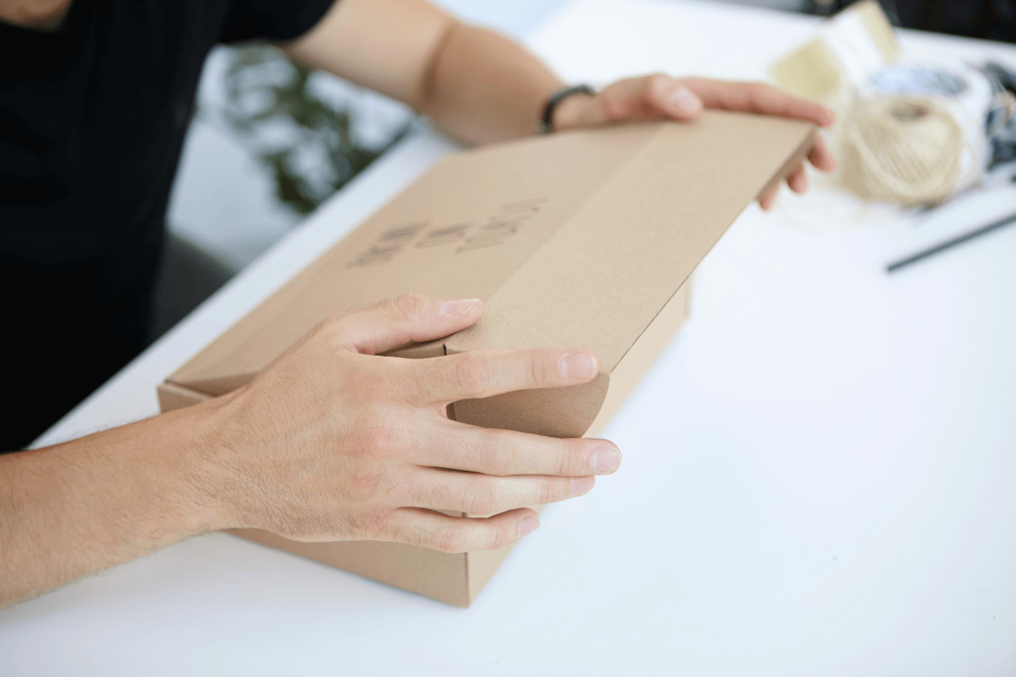natural cardboard packaging