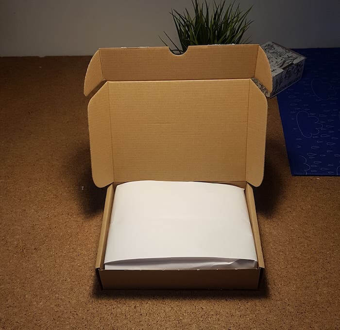 average packaging for ecommerce