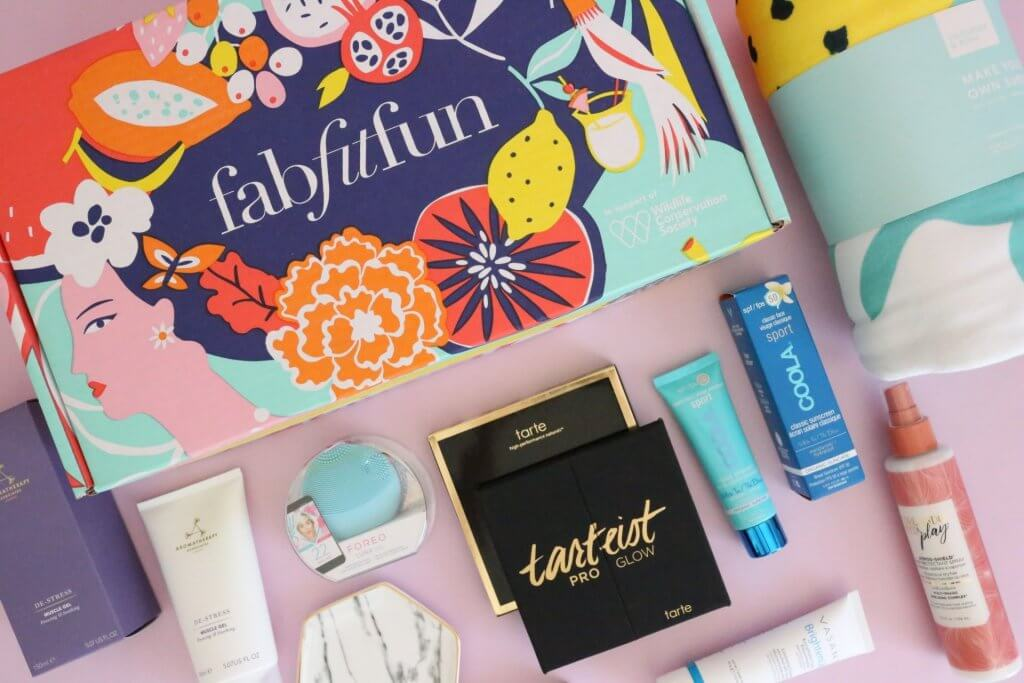 example of fab fit fun subscription box