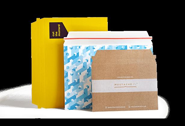 rigid envelopes with logo