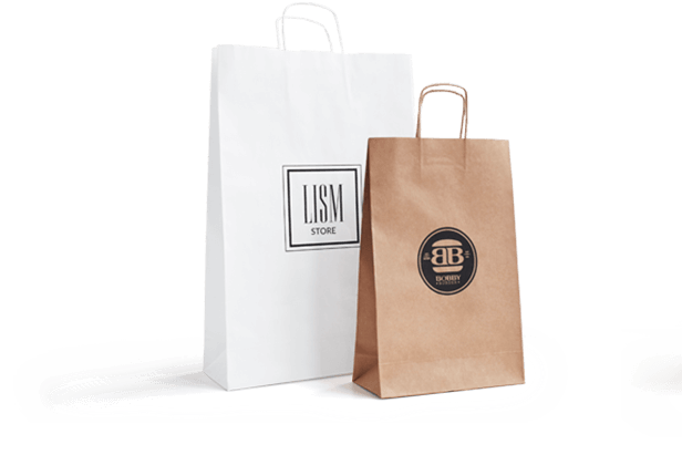 paper bags with logo