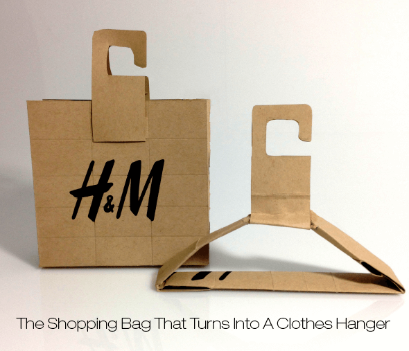 H&M sustainable packaging design