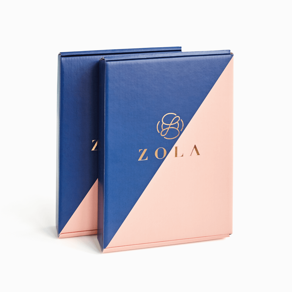 non-standard packaging with hot-stamping by Zola
