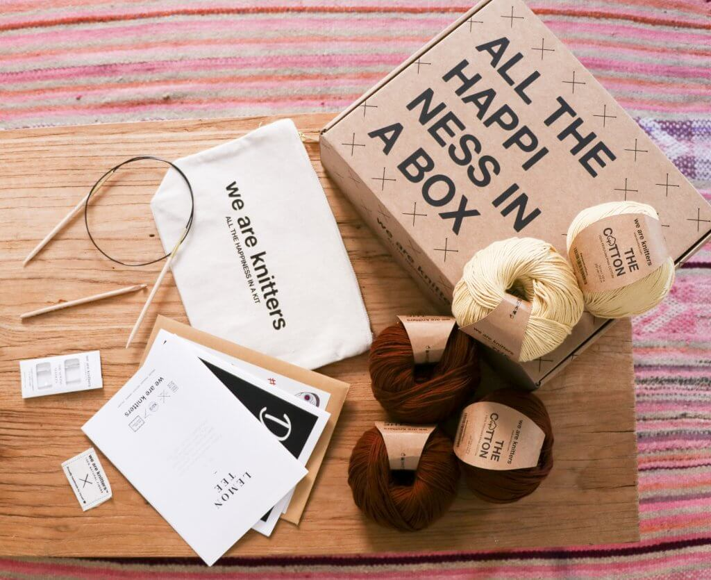 knitting kit - subscription box - we are knitters