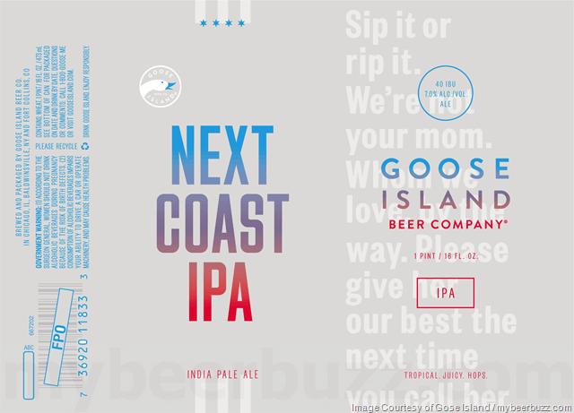 next coast beer branding