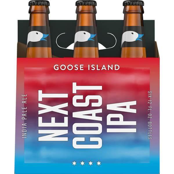 next coast beer packaging design