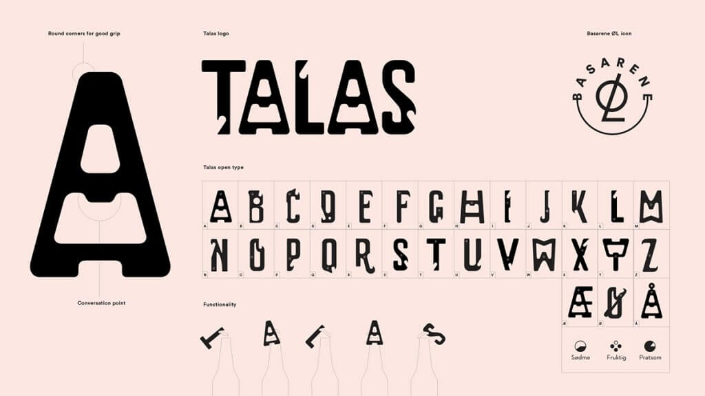 talas brewing branding